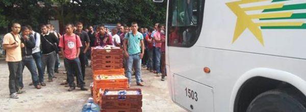 Ayotzinapa se solidariza con población damnificada por las lluvias