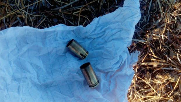 Casquillos de M16 usados contra manifestantes en Barranca Larga