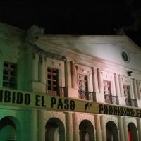 La noche del sismo en San Cristóbal de las Casas, Chiapas