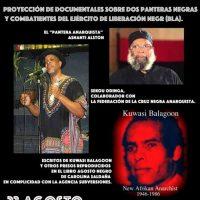 Anarquistas y anarquismo en Agosto Negro