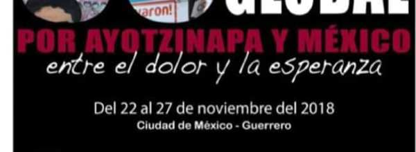 22-27 nov: Acción Global por Ayotzinapa