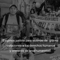 Centros de derechos humanos exigen justicia por graves violaciones de derechos humanos y crímenes de lesa humanidad