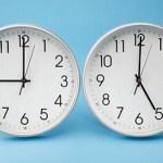Sensación de yet lag por el cambio de hora