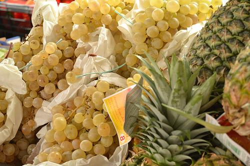 uva y piña
