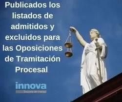 oposiciones tramitación procesal madrid