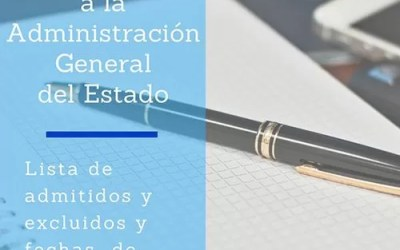 Lista admitidos Administración General