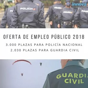 oposiciones guardia civil y policia 2018