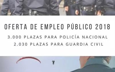 Oposiciones Guardia Civil y Policia Nacional 2018