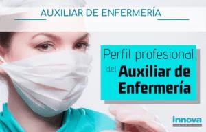 perfil profesional auxiliar de enfemeria