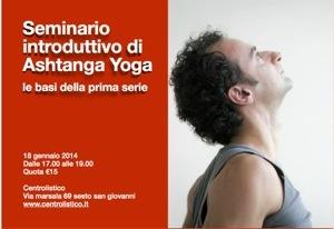 Seminario introduttivo di Ashtanga Vinyasa Yoga