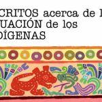 Portada del libro: Escritos acerca de la situación de los indígenas