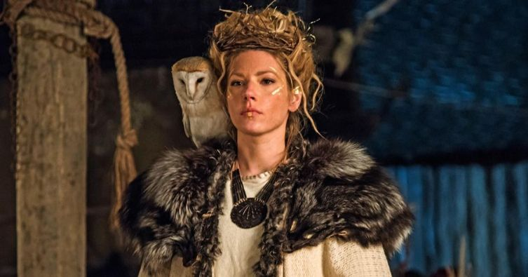 Lagertha en Vikings