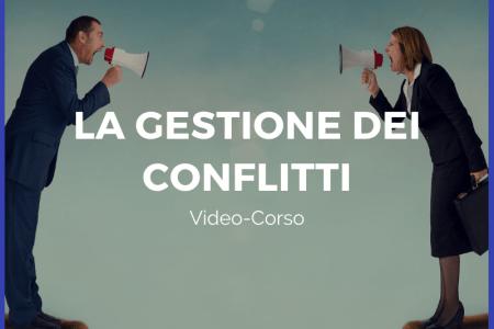Corso La gestione dei conflitti