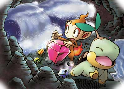 Chimchar y Turtwig