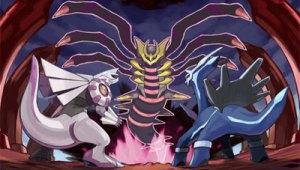 Actualización de la sección de Pokémon Platino