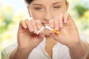 russamento no sigarette fumo