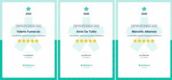 Miodottore Certificato eccellenza Centro San Camillo Bari