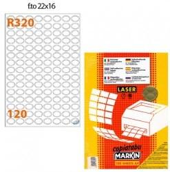Etichette Markin oro R320