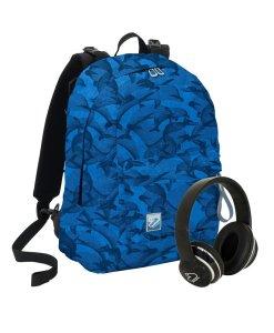 zaino seven the double special edition blu