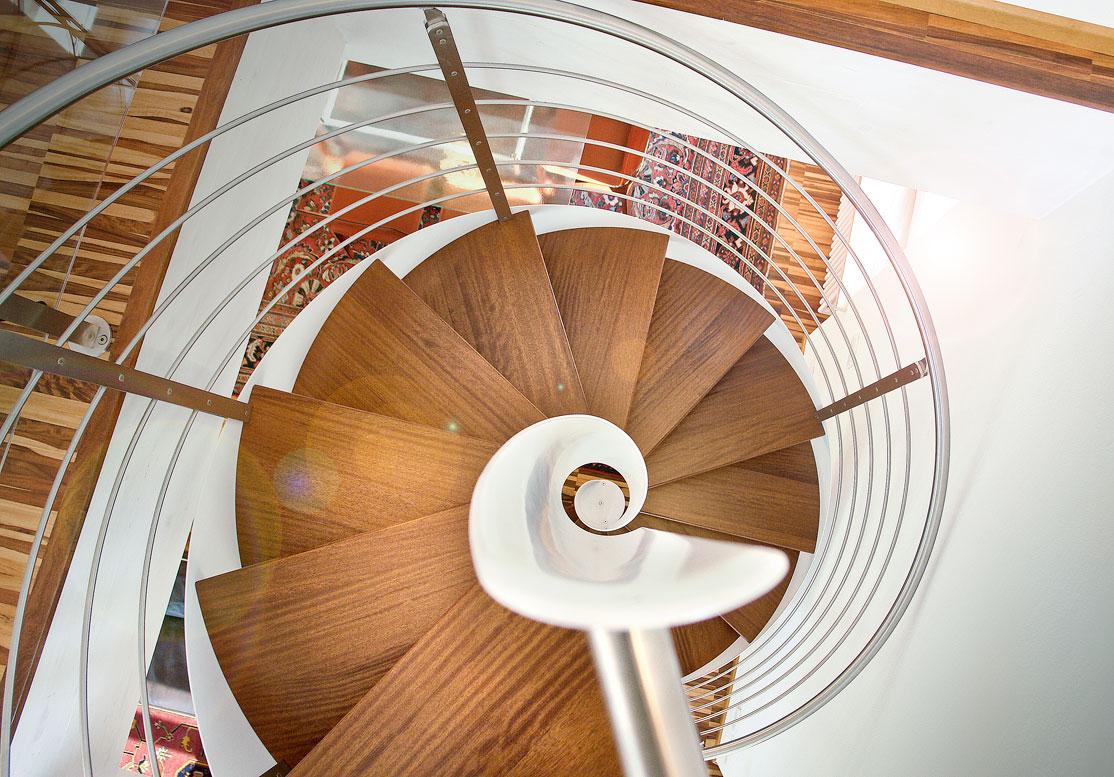 Architetti fai da te: progettare una scala a chiocciola