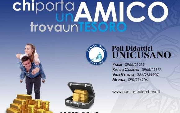 """Concorso Centro Studi Carbone """"PRESENTACI UNO STUDENTE"""""""