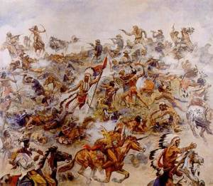 Elk Eber, L'ultima battaglia di Custer (1936), Museo Karl May