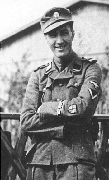 Volontario inglese del Britisches Freikorps