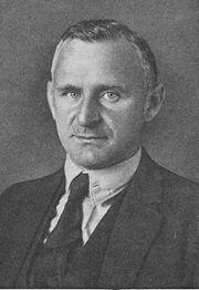 Carl Friedrich Goerdeler (31. Juli 1884 - 2. Februar 1945)