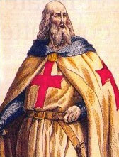 Jacques de Molay (1243-1314), ultimo Gran Maestro dell'Ordine del Tempio