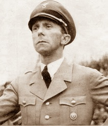 Joseph Goebbels (Rheydt, 29 ottobre 1897 – Berlino, 1º maggio 1945)