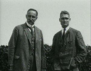 Karl Haushofer con Rudolf Hess.