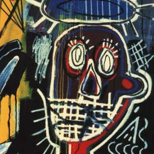 "Un esempio di ""arte"" di Jean-Michel Basquiat"