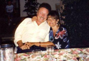 Alfredo Cattabiani con sua moglie Marina Cepeda Fuentes
