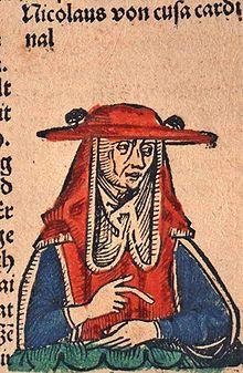 Il cardinale Cusano rappresentato nelle Cronache di Norimberga