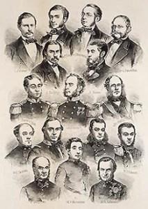 L'equipaggio della fregata Novara