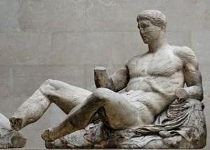 Fidia, Dioniso. Figura D del frontone est del Partenone (ca. 447-433 a.C.)