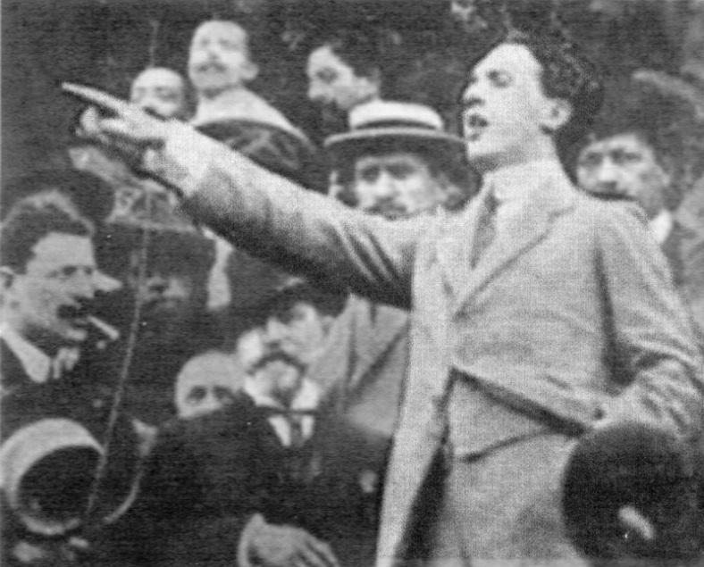 Filippo Corridoni sindacalista rivoluzionario