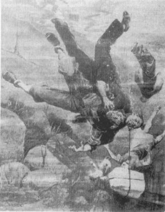 """Achille Beltrame, copertina de """"La Domenica del Corriere"""", del gennaio 1944."""