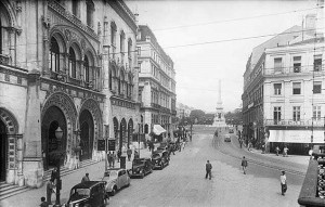 Stazione Rossio, Lisbona, 1943.