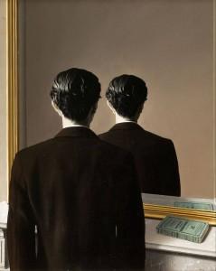 magritte-specchio