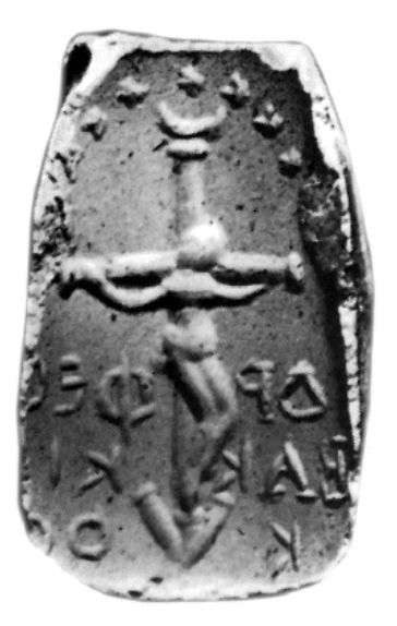 Orfeo crocifisso. Reperto archeologico collezione Gerhard