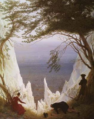 Caspar David Friedrich, Bianche scogliere di Rugen