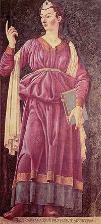 Sibilla Cumana (Andrea del Castagno, Ciclo degli uomini e donne illustri)