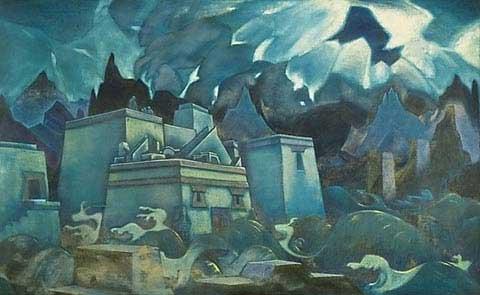 Nicholas Roerich, Gli ultimi giorni di Atlantide