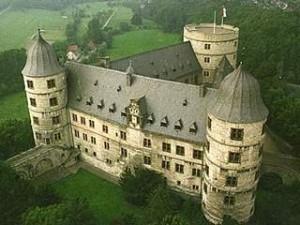 Il castello di Wewelsburg. Veduta aerea