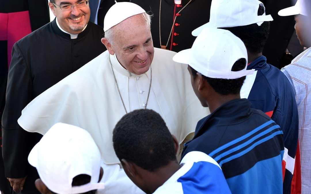 I migranti e il Papa