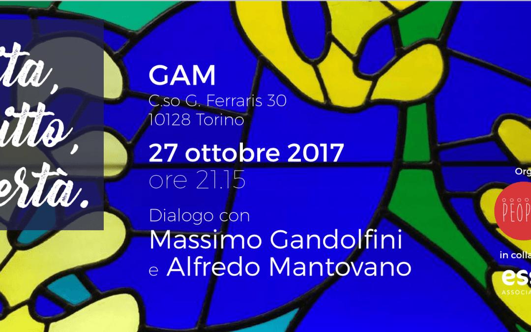 Vita, diritto, libertà – Torino – 27 ottobre 2017