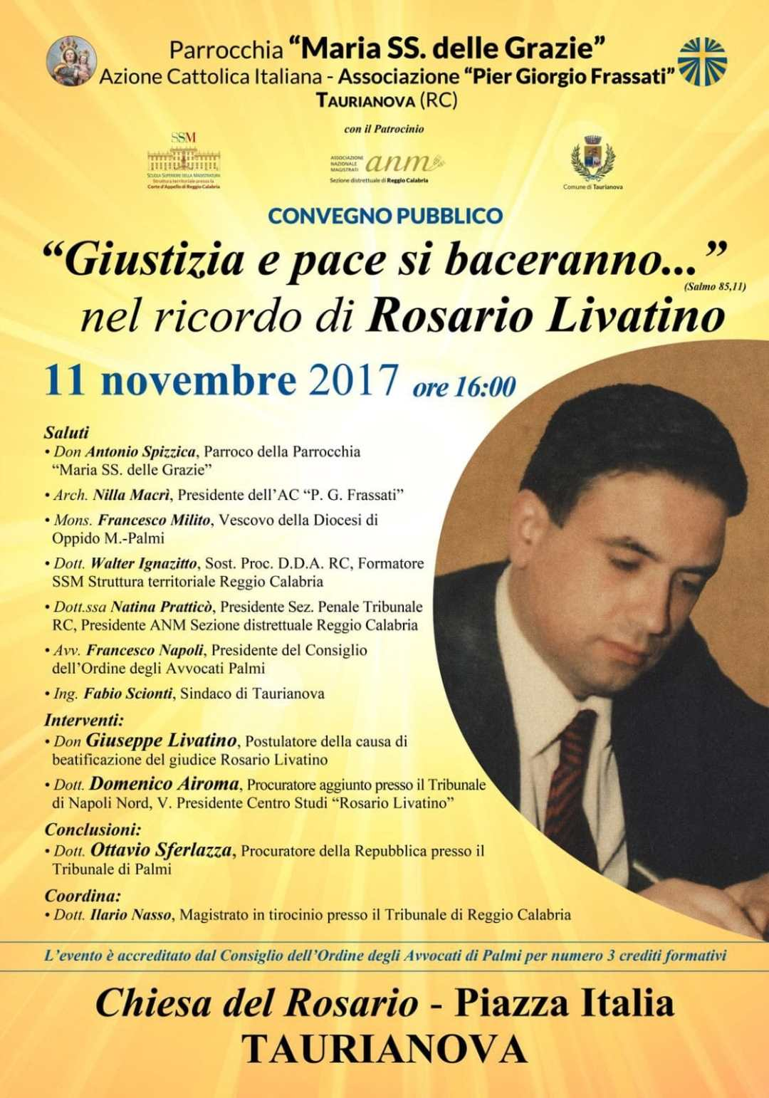 locandica conferenza su rosario livatino