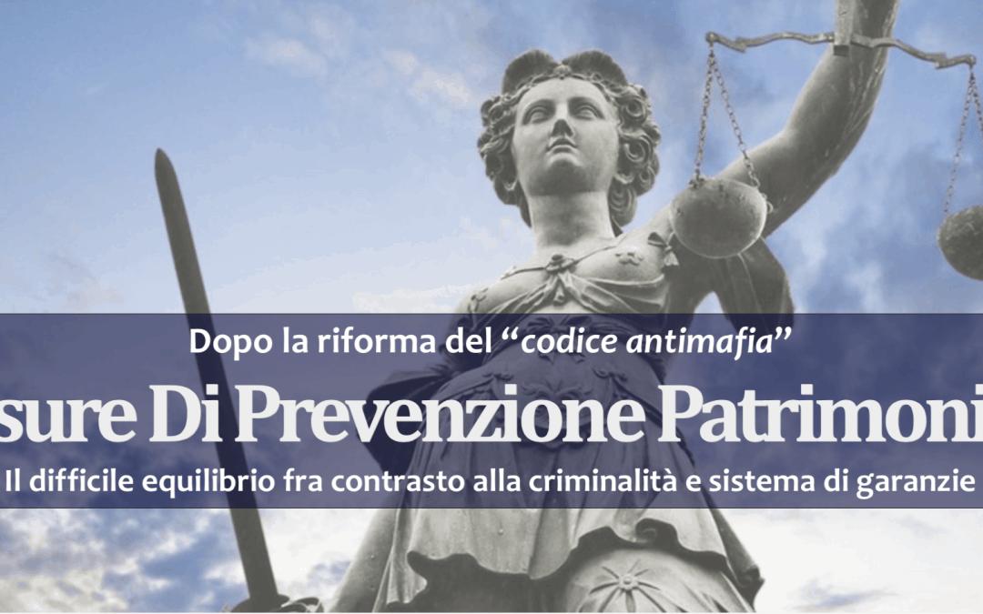 Misure di prevenzione Patrimoniali – Palermo – 11 maggio 2018