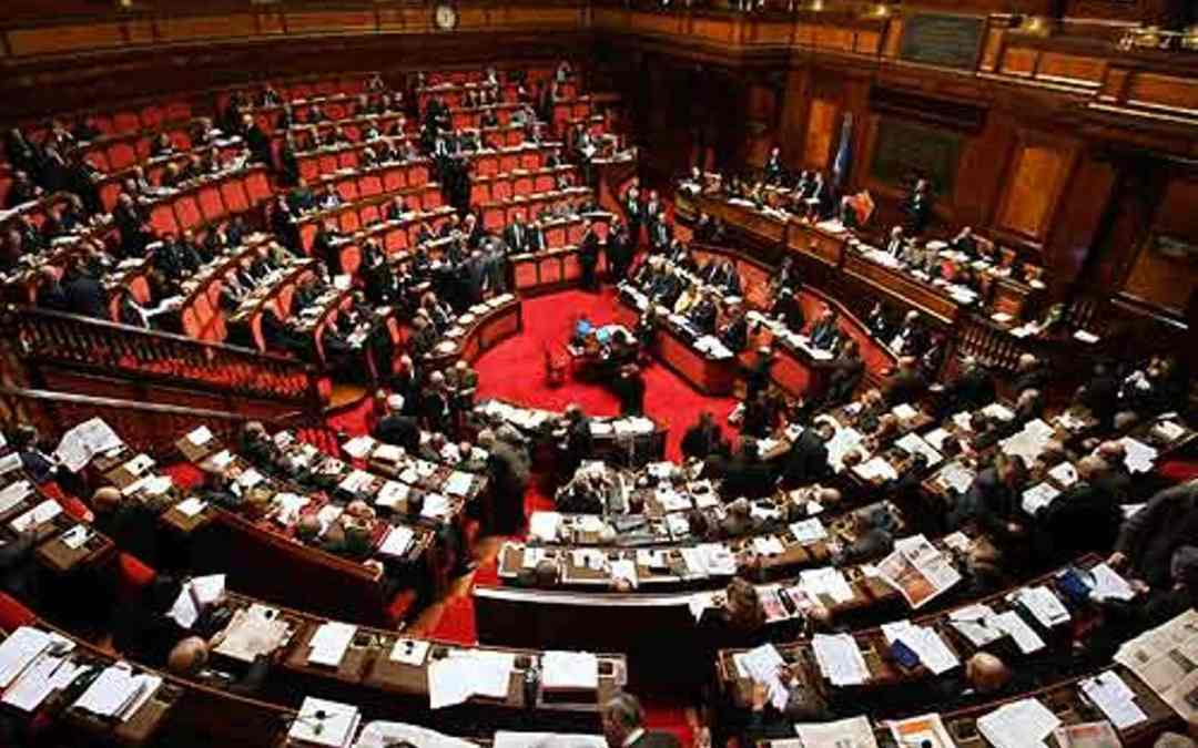 discussione in parlamento